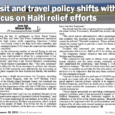 Haiti earthquake will delay travel plans to GTMO, this includes contractors such as the Beauty Battalion as shown below in this January 29th GTMO Gazette article.